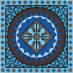 Mosaic Blue Coaster