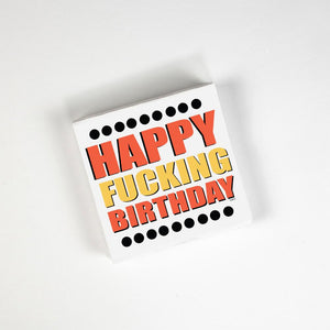 Happy Fucking Birthday Napkins