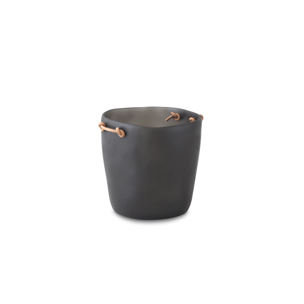 Resin Champagne Bucket, Leather Handles