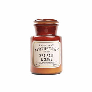 Sea Salt & Sage Apothecary Candle