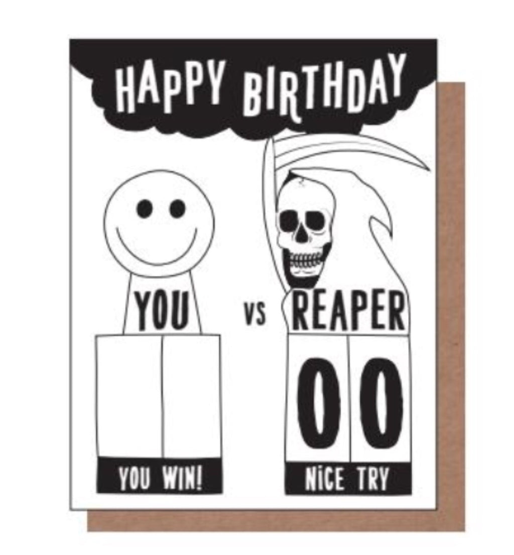 You Vs. Reaper Birthday