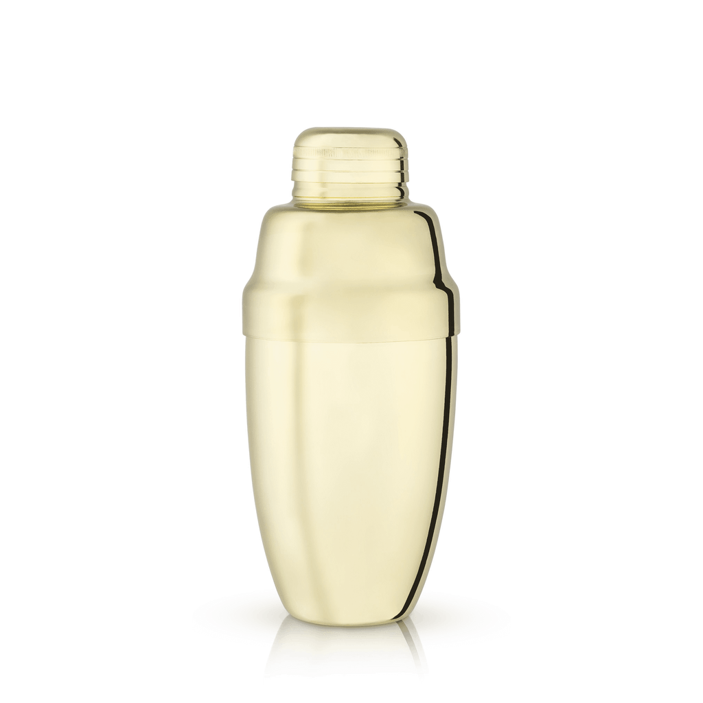 Gold Heavyweight Cocktail Shaker