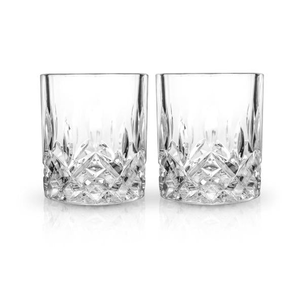 Crystal Tumblers Set of 2