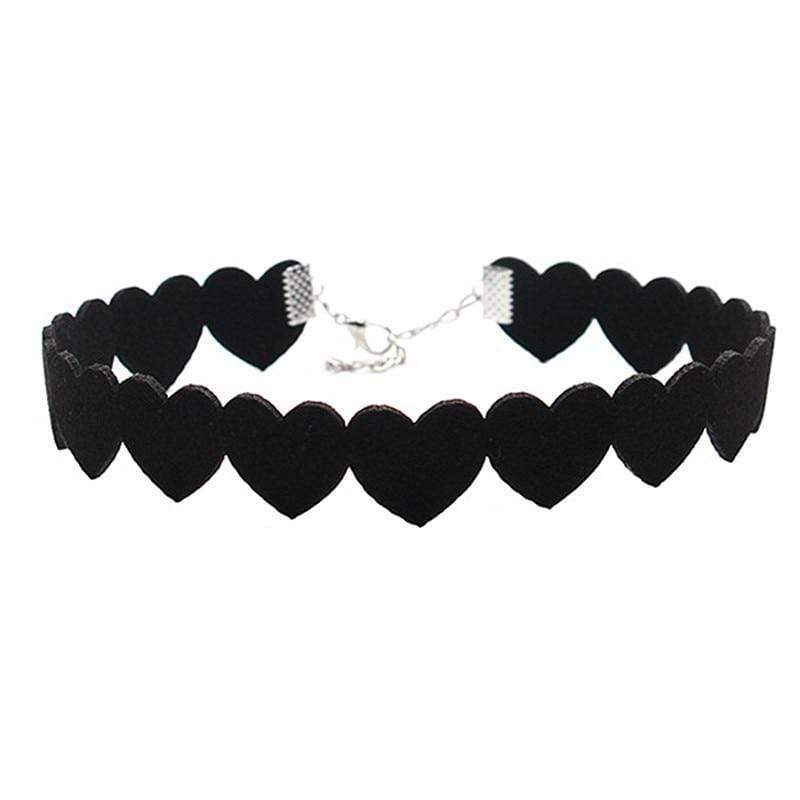 Kinky Cloth 90's Heart Choker