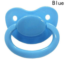 Kinky Cloth Blue ABDL Adult Pacifier Binkie