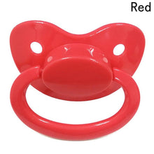 Kinky Cloth none Red ABDL Adult Pacifier Binkie