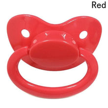 Kinky Cloth Red ABDL Adult Pacifier Binkie