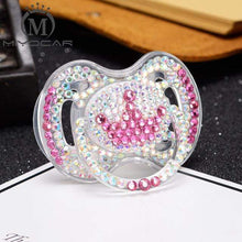 Kinky Cloth CC 6 to 18m ABDL Rhinestone Adult Pacifier Binkie