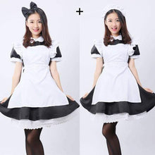 Load image into Gallery viewer, Kinky Cloth black / L Alice in Wonderland Dress