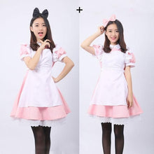 Load image into Gallery viewer, Kinky Cloth pink / L Alice in Wonderland Dress