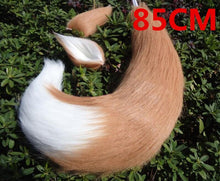 Kinky Cloth 200003991 Brown 85cm Anime Fox Ears and Tail Set