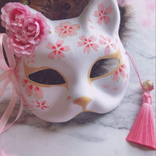 Kinky Cloth Accessories With flowers Asian Kitty Fox Mask
