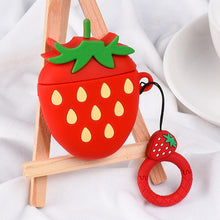 Kinky Cloth Accessories Strawberry Avocado Apple AirPods Case