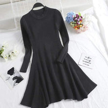 Kinky Cloth Dresses Black / One Size Baby Doll Knit Sweater Dress