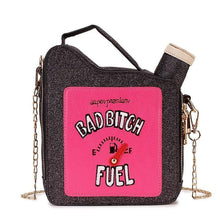 Kinky Cloth 100002856 black / Mini(Max Length<20cm) Bad Bitch Fuel Purse