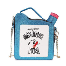 Kinky Cloth 100002856 blue / Mini(Max Length<20cm) Bad Bitch Fuel Purse