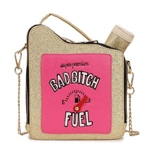 Kinky Cloth 100002856 gold / Mini(Max Length<20cm) Bad Bitch Fuel Purse
