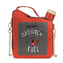 Kinky Cloth 100002856 red / Mini(Max Length<20cm) Bad Bitch Fuel Purse