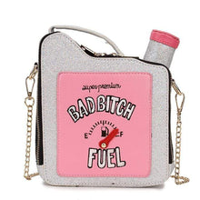 Kinky Cloth 100002856 silver / Mini(Max Length<20cm) Bad Bitch Fuel Purse