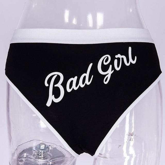 Kinky Cloth Black / S / United States Bad Girl Panties