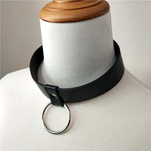 Kinky Cloth Necklace Belt Ring Collar