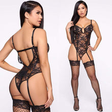Kinky Cloth 200000362 Black See Through Bodysuit