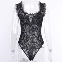 Kinky Cloth 201236202 Black Sleeveless Lace Bodycon