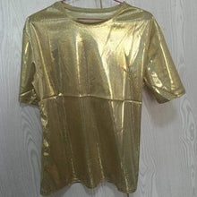 Kinky Cloth Gold / One Size Blade Runner Hologram Top