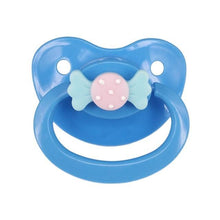 Kinky Cloth Blue Bow Adult Pacifier
