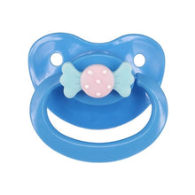Kinky Cloth na Blue Bow Adult Pacifier