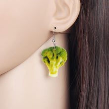 Load image into Gallery viewer, Broccoli Earrings