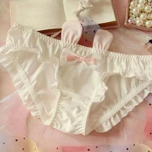 Kinky Cloth Panties White / M Bunny Rabbit Ears Panties
