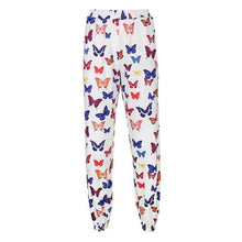 Kinky Cloth 200000366 White Pants / L Butterfly Print Jogger