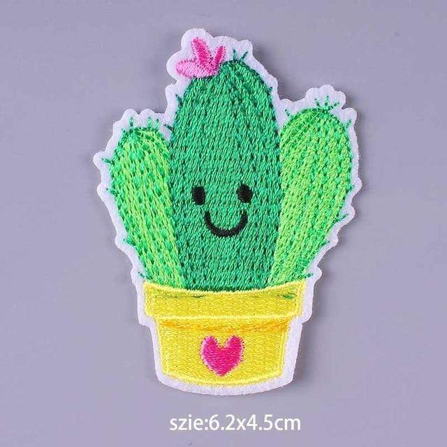 Kinky Cloth Patch Cactus Patch
