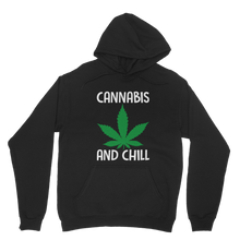 alloverprint.it Apparel Black / XS Cannabis and Chill Classic Adult Hoodie