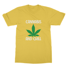 alloverprint.it Apparel Daisy / Unisex / S Cannabis and Chill Classic Adult T-Shirt