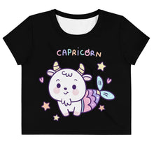 Kinky Cloth XS Capricorn Pastel Crop Top Tee