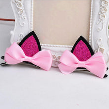 Kinky Cloth Accessories Cat Ears Bow Hairpins