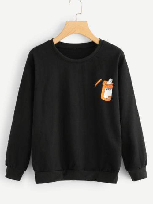 Celeste Top L Cat RX Sweatshirt