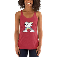 Kinky Cloth Vintage Red / XS Cat Unicorn Tank Top