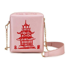 Kinky Cloth 100002856 light pink Chinese Takeout Box Purse