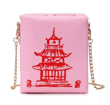 Kinky Cloth 100002856 PINK Chinese Takeout Box Purse
