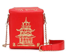 Kinky Cloth 100002856 Red Chinese Takeout Box Purse