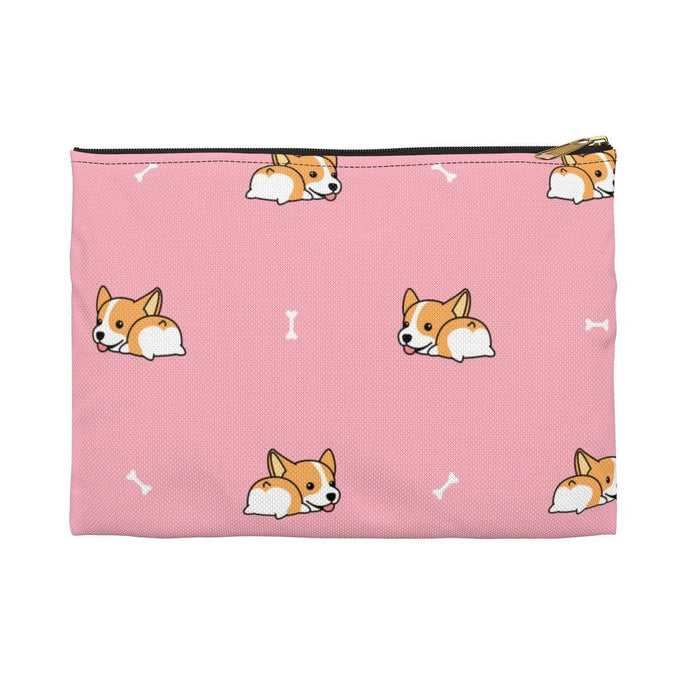 Printify Bags Large / Black Corgi Butt Accessory Pouch