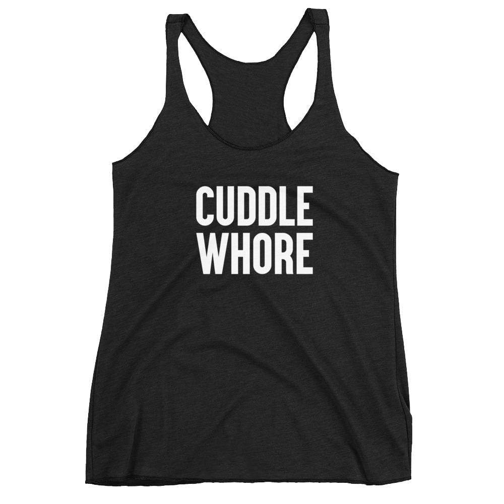 Kinky Cloth Vintage Black / XS Cuddle Whore Tank Top