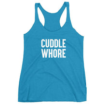 Kinky Cloth Vintage Turquoise / XS Cuddle Whore Tank Top