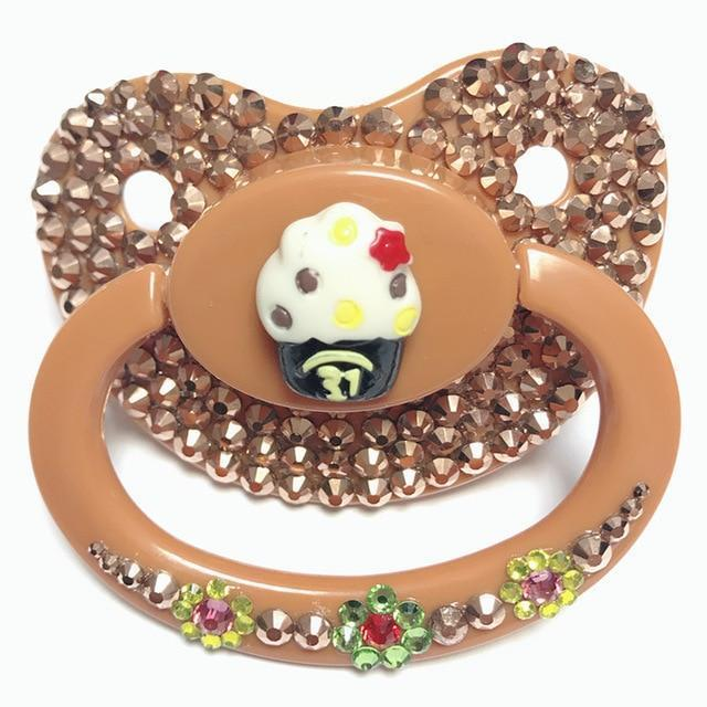 Kinky Cloth Accessories Cup Cake Adult Pacifier