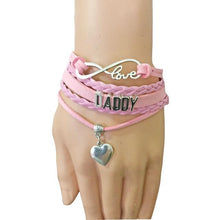 Kinky Cloth Pink / 16cm Daddy Leather Bracelet