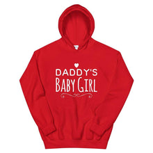 Kinky Cloth Red / S Daddy's Baby Girl Hoodie