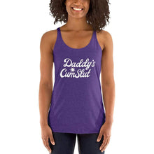 Kinky Cloth Purple Rush / XS Daddy's Cumslut Tank Top